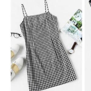 Gingham Dress - Size Small NWOT